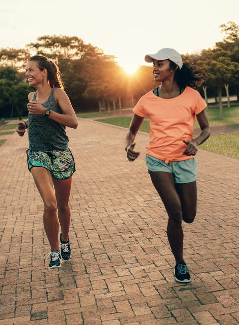 Lake treeby land estate vision banjup girls jogging
